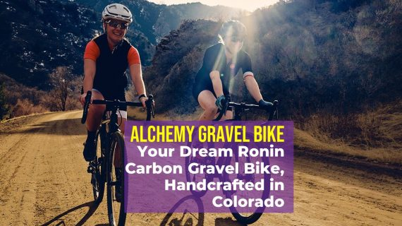 Ronin Carbon Gravel Bike from Alchemy