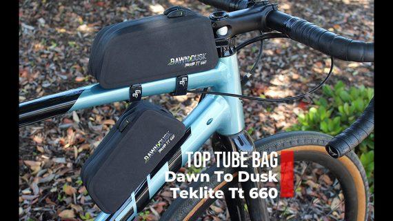 GRAVEL BIKE TOP TUBE BAG Dawn To Dusk Teklite Tt 660