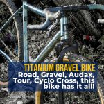 Gradient Reilly Titanium Cycleworks Bike For All Terain