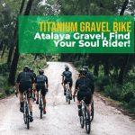 J Guillem Atalaya Titanium Gravel Bike